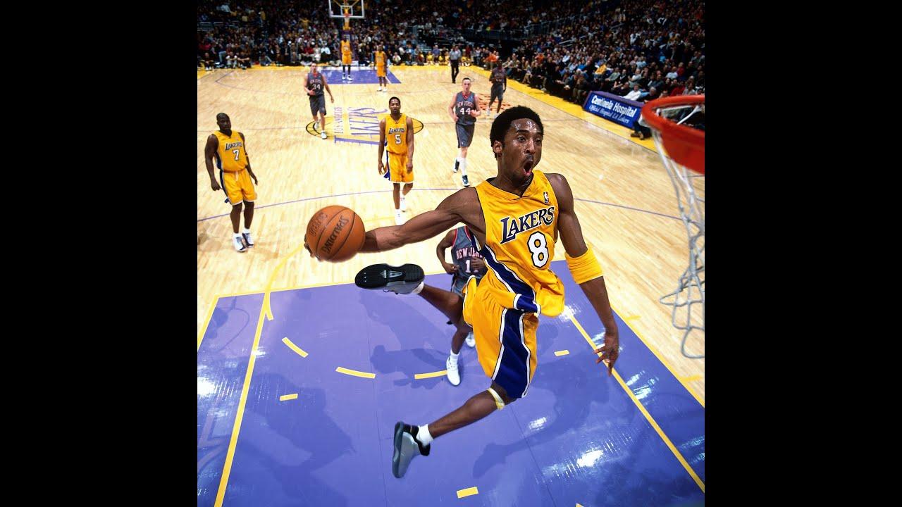 Young Kobe Tomahawk : NBAimages