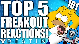 Destiny: Funny Top 5 Freakout Reactions To Loot Drops / Episode 101 - Duration: 7:38.
