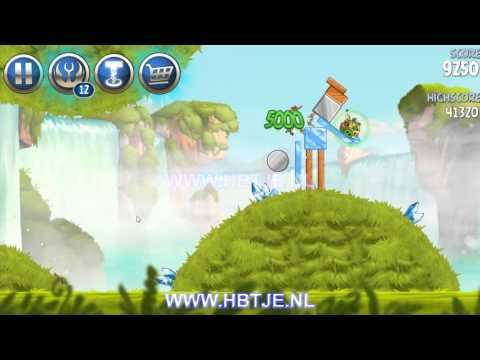 Angry Birds Star Wars 2 Naboo Invasion b1-14 3 stars
