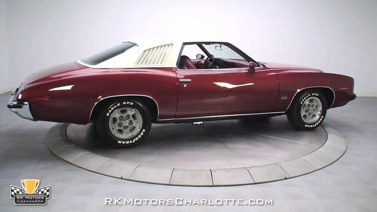 1973 Pontiac Grand Am Related Infomation Specifications