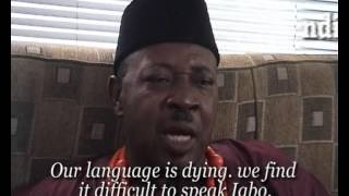 """Our Igbo language is dying"" -Amaechi Muonagor speaks out"