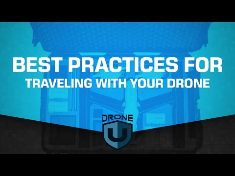 Our best practices and advice when traveling with a drone - Ask Drone U