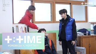 [T:TIME] Cute trick on sleeping boy! - TXT (투모로우바이투게더)
