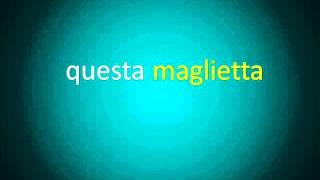 Curso de Italiano. Clase 17