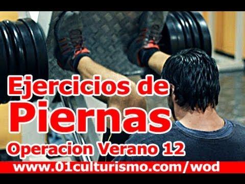 Ejercicios de Piernas - Operación Verano 12