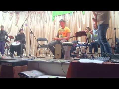 """Фестиваль """"Тавале"""". Концерт группы DRUMGROMADA (11.10.2014) - 00033"""