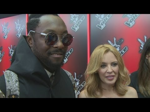 The Voice 2014:  Kylie Minogue, will.i.am, Tom Jones and Ricky Wilson talk new season