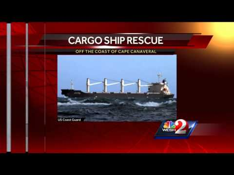 Coast Guard rescues 19 sick men from cargo ship