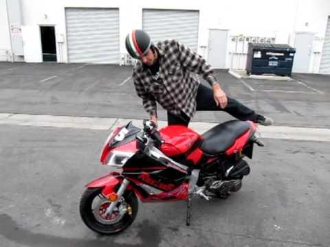 MotoBravo Hornet California Street Legal Mini Motorcycle