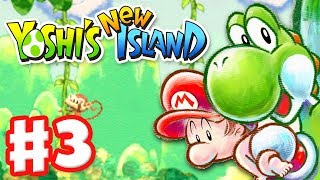 Yoshi's New Island Gameplay Walkthrough Part 3 World 3