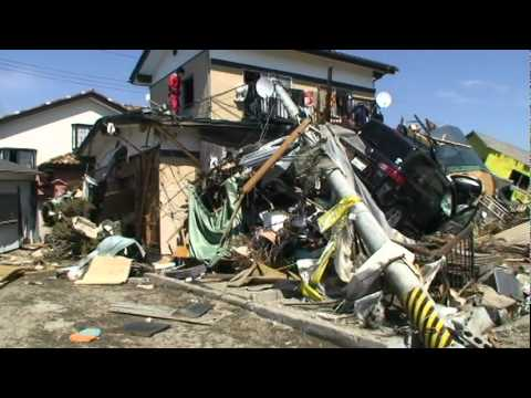 Ishinomaki City, after the tsunami