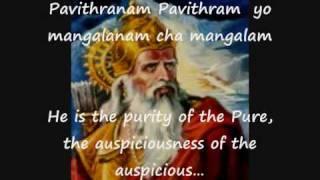 Sri Vishnu Vishnusahasranamam Part 1 Of 4 With English