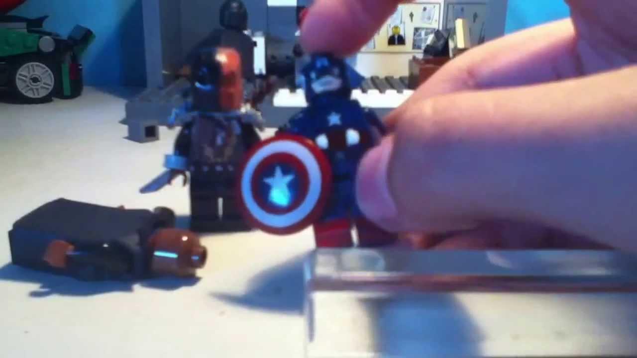 Nightwing vs deathstroke lego