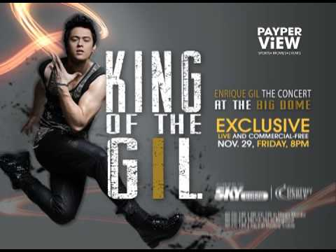 Enrique Gil Concert LIVE on SKYcable Pay-Per-View