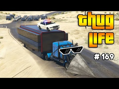 GTA 5 THUG LIFE AND FUNNY MOMENTS (Wins Stunts and Fails #169)