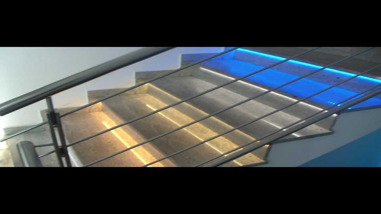 Faretti scale esterne illuminazione led per esterni - Lampade per scale ...