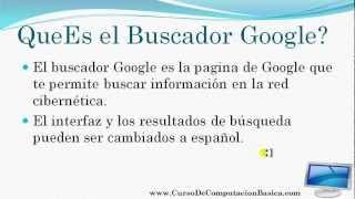 Poner El Buscador Google En Español