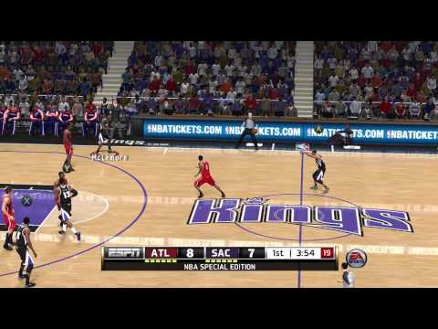 NBA Live 14: Atlanta Hawks Vs Sacramento Kings - 1st Quarter