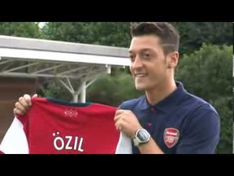 Mesut Ozil  Arsenal unveil record signing