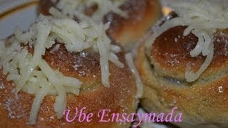 Cooking | How to make Ensaymada using bread machine | How to make Ensaymada using bread machine