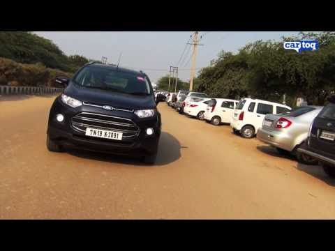 Ford EcoSport 1.5 TDCI Titanium (Diesel) video review by CarToq com