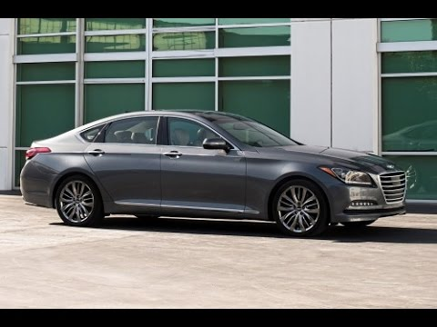 2015 Hyundai Genesis Start Up and Review 3.8 L V6