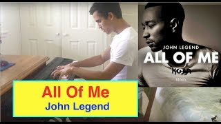 ♫ 'All Of Me' By 'John Legend' Piano Cover ♫ + **Sheet