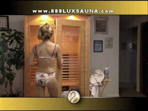 Sauna for Sale at luxsauna.com