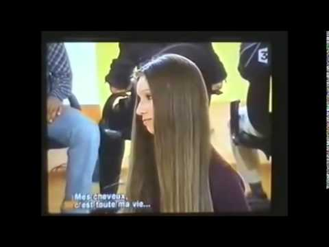 Beautiful Natacha - Knee length silky long hair - Compilation