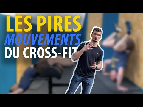 Top 5 des pires exercices du crossfit (kiné)
