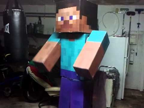 Minecraft Steve Costume How To