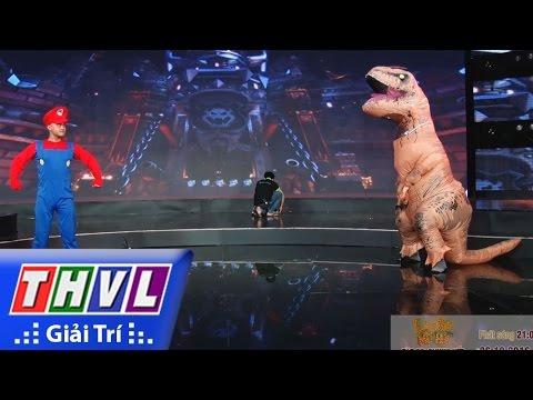 THVL | Hậu trường Làng hài mở hội - Tập 26: Mario giải cứu công chúa - Đội Dí Dỏm