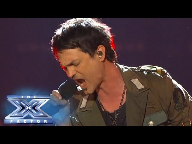 "Jeff Gutt Makes The ""Cut"" - THE X FACTOR USA 2013"