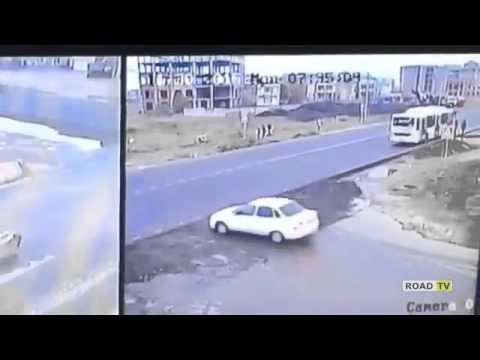 Авария на трассе Каспийск-Махачкала