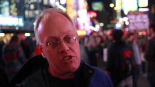 Occupy Wall Street: Chris Hedges in Times Square