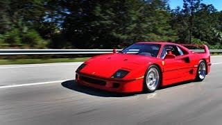 My Ride in the Ferrari F40
