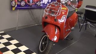 [Piaggio Vespa GTS 300 Super - Tour of Europe Exterior and In...] Video