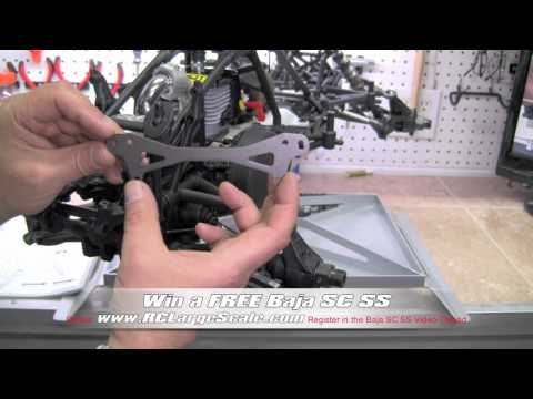 HPI Baja 5SC SS Build Video #44 Pages 56 & 59