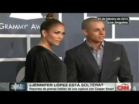 Jennifer Lopez y Casper Smart terminan su relación