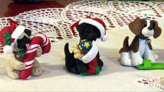 Polymer Clay Deb Felix Share Her Puppy Pals