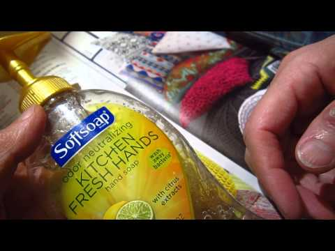 Call for help - kitchen vs. bath soap, asmr