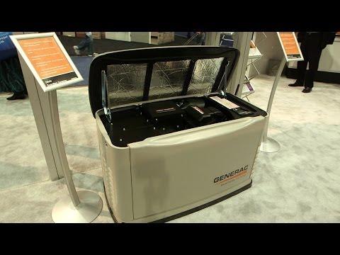 Generac's quieter, fuel-saving generator