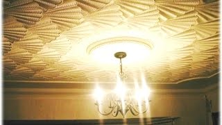 Ceiling Creations. The Amazing (& Beautiful) 3D Effect