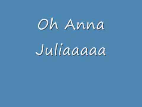 Anna Julia Letra