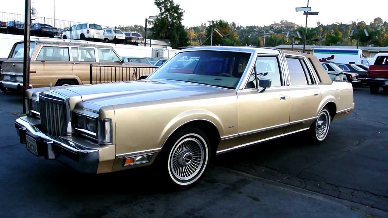 1985 lincoln town car 5 0 low miles cheap classic