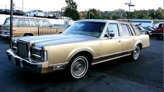 1985 Lincoln Town Car 5.0 Low Miles CHEAP Classic Youngtimer Ford Import Export Transport videos