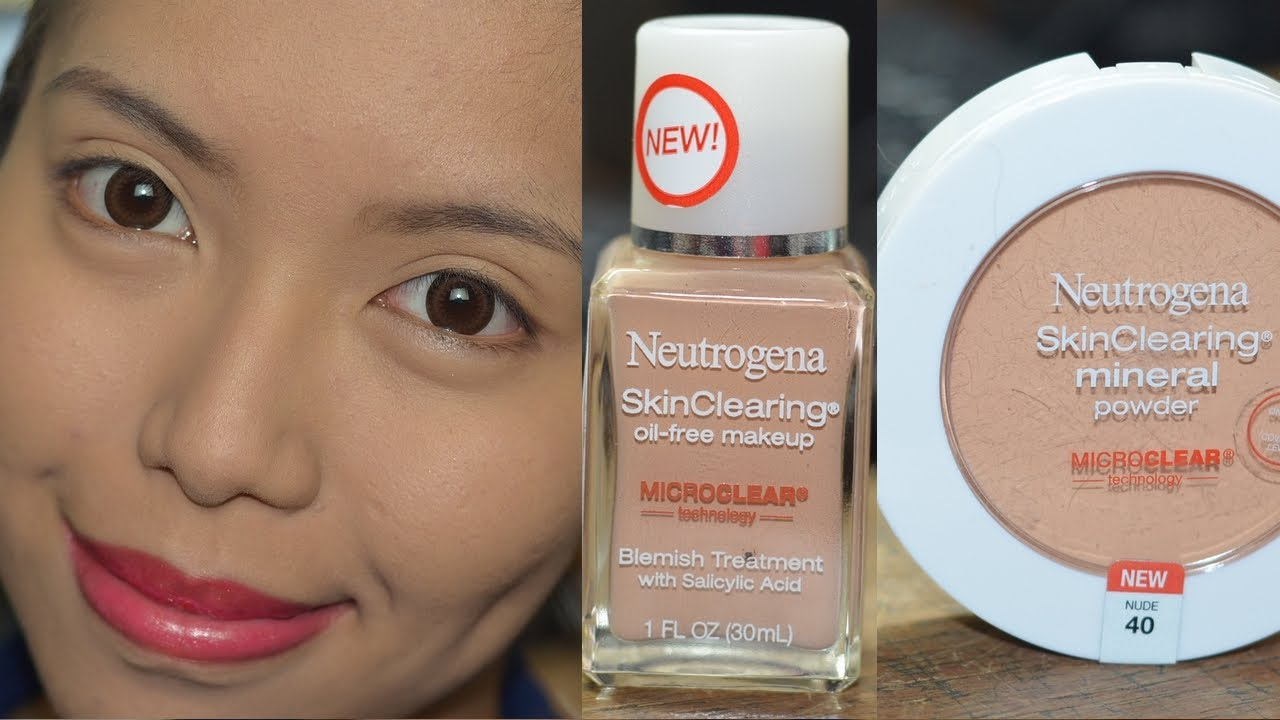 Neutrogena skin clear foundation