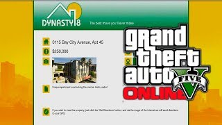 GTA 5 Online: New Dynasty 8 Apartments, Garages & Houses