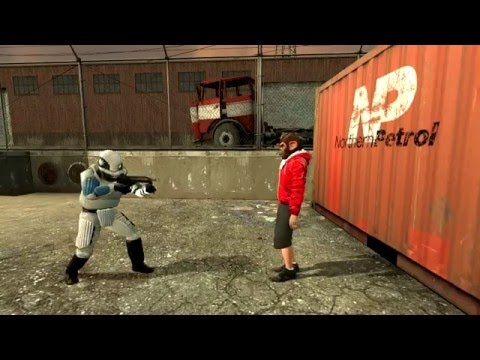 Vanoss Gmod Guess Who Funny Moments  衝擊波~ 中文字幕Shockwave! Garry's Mod