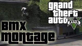 ★ GTA 5 BMX Bike Stunt Montage!